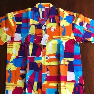 🏝NWT🏝 Bright & Fun Hawaiian Shirt